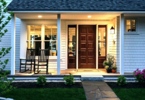 brighten up your house with porch lighting