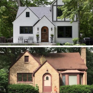 Dormer before and after