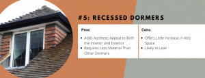 Recessed Dormers