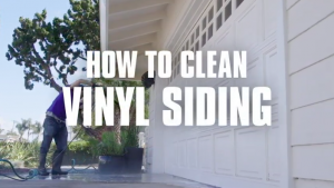 How To Wash Siding