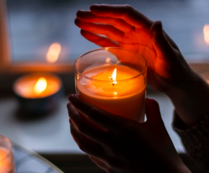 use a candle to check for window drafts