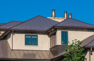 Grey Standing Seam Roof
