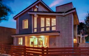 New windows on modern home