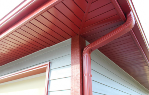 Red soffit