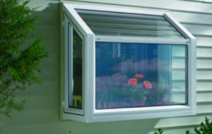 Garden window inserts