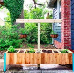 compost bin planter box