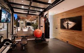 converted home gym