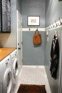Laundry room mudroom