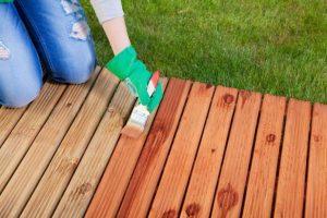Sealing a porch