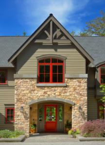 manufactured Stone veneer facade