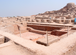 Bath house in the Indus Valley