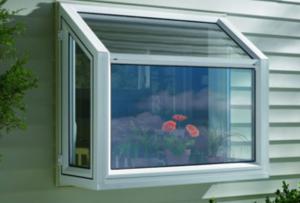 Garden window insert