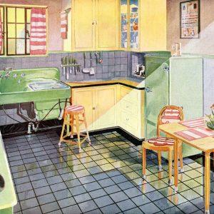 Vintage Kitchen Photos