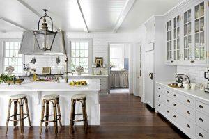 Modern All White Kitchen