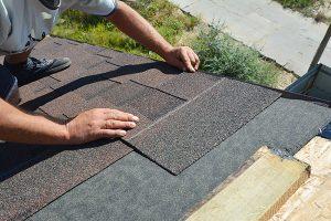 2 layers of asphalt shingles
